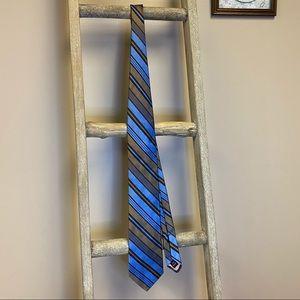 Ted baker London silk diagonal stripes tie
